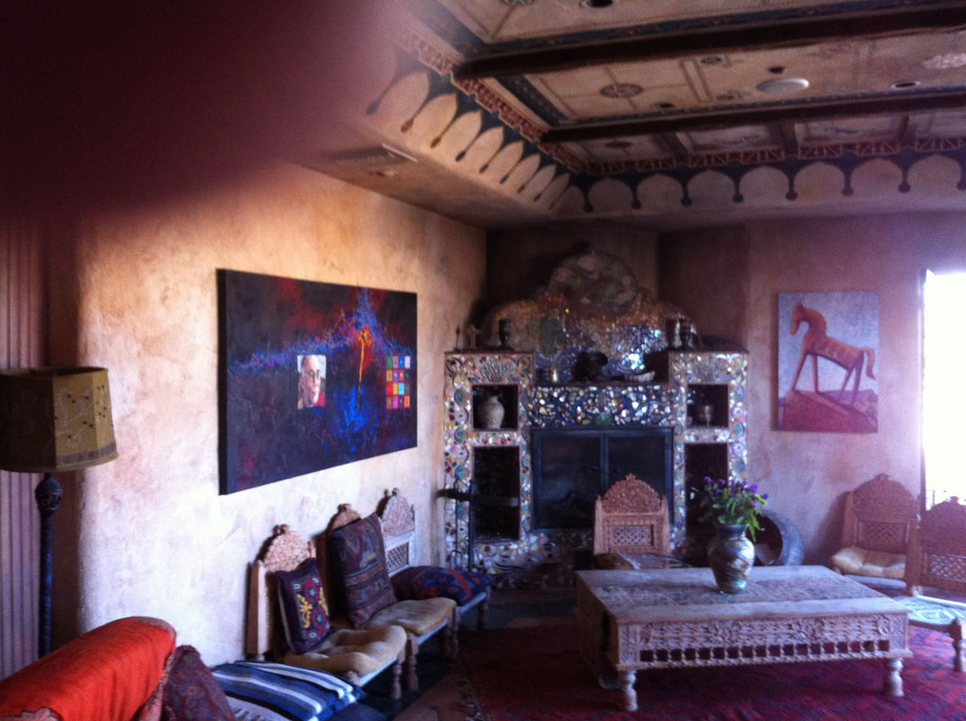 Le Haute Desert Aerie art and textiles