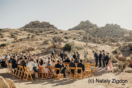 Joshua Tree Best Wedding Venue